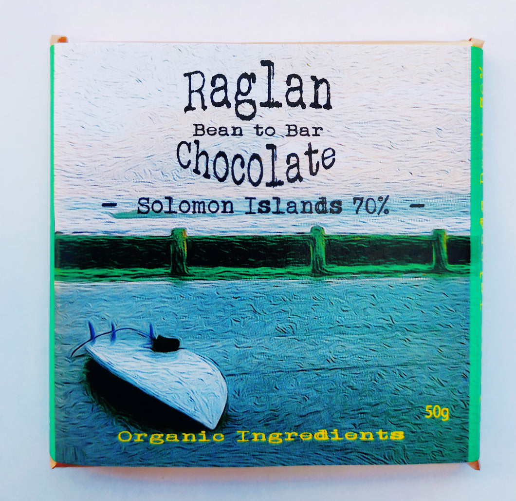 Raglan Bean to Bar Chocolate, Soloman Islands 70%