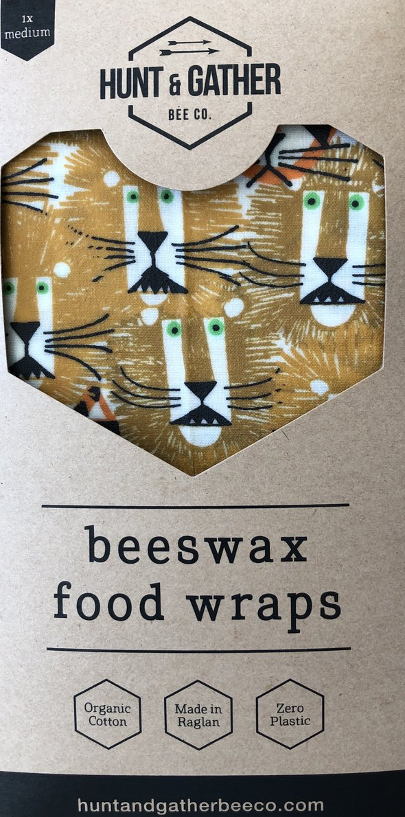 Beeswax Food Wraps, Medium