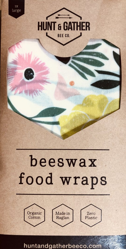 Beeswax Food Wraps, Large