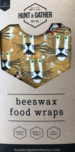 Load image into Gallery viewer, Beeswax Food Wraps, Large