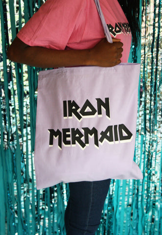 Iron Mermaid Tote