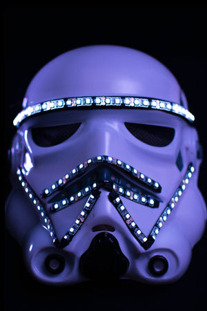 Storm-Trooper LED Mask