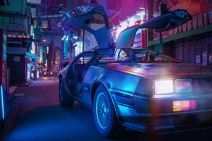LED Canvas: AGK42- Back To The Future (Sold out)