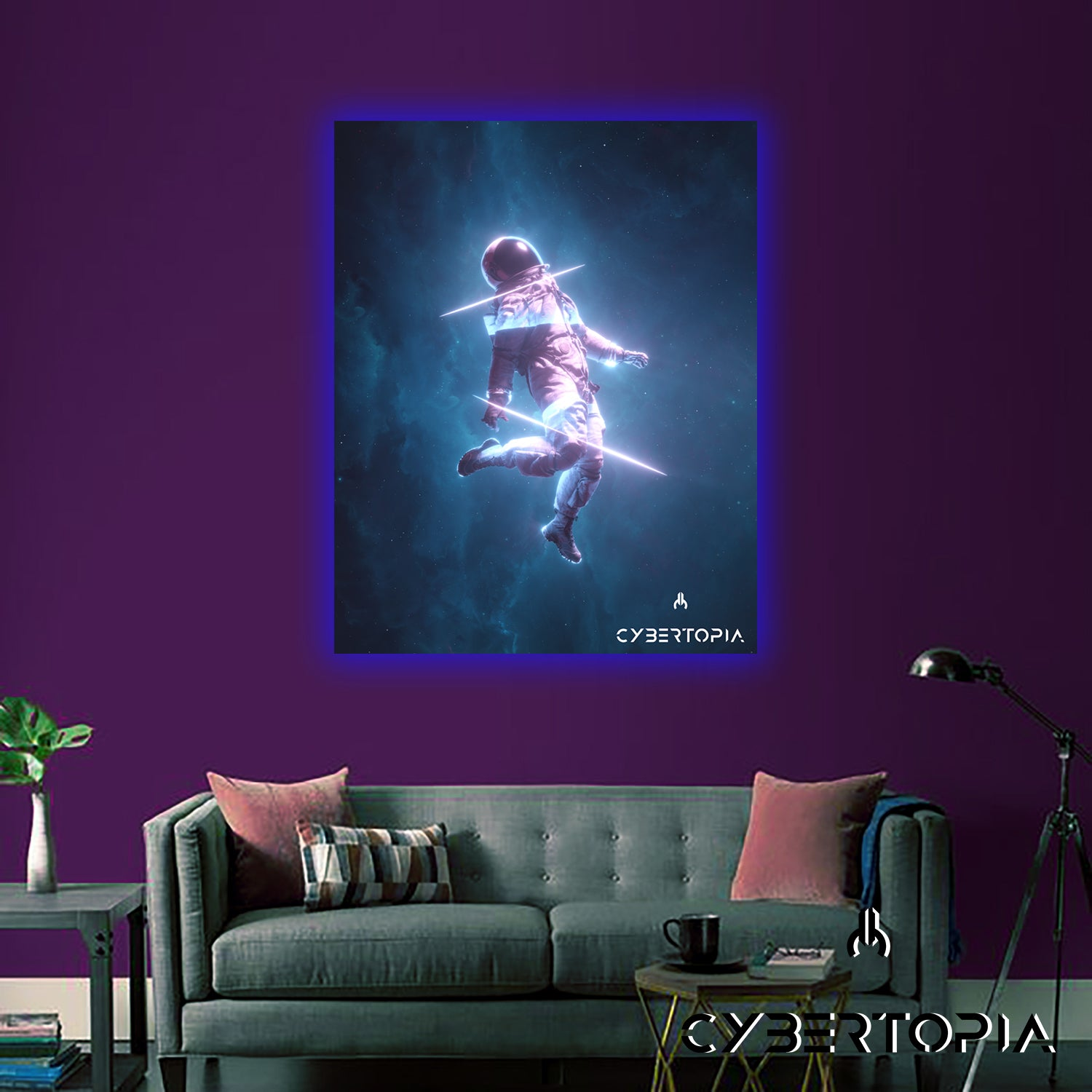 LED Canvas: Liam.Pannier - Sentient (Sold out)