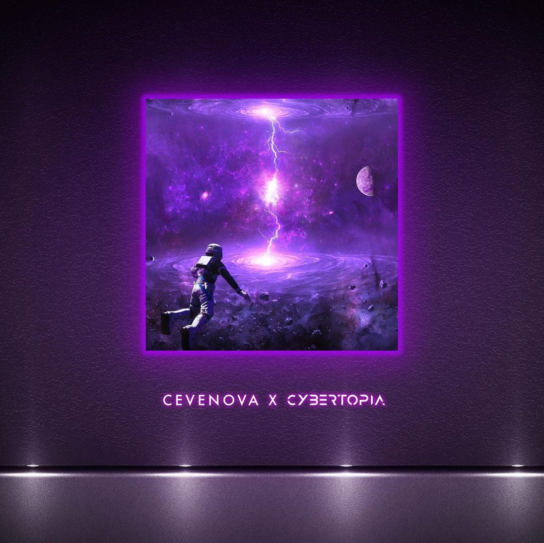 LED Canvas: Cevenova - Reflective Enemy (Pre-Order)