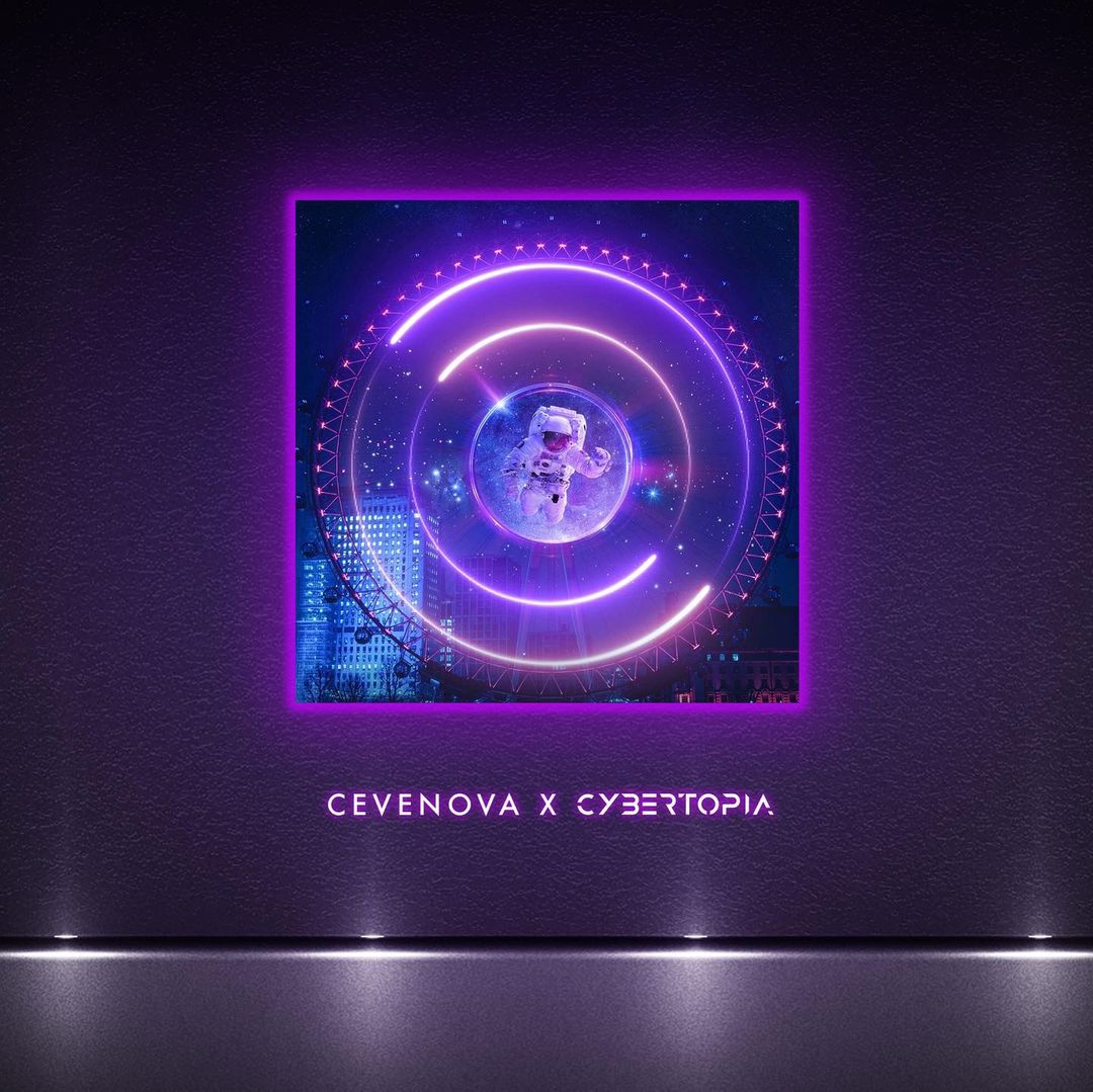 LED Canvas: Cevenova - Drowned In Dizziness (Pre-Order)