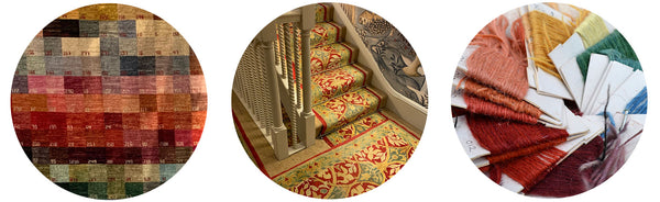 Clive Rogers Oriental Rugs | Stroud | London | Bespoke traditional rug production