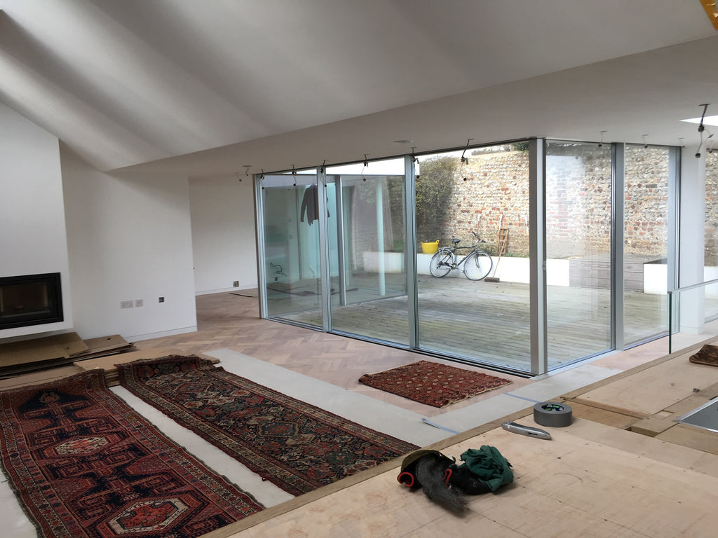 Onsite at a Passivhaus project (Brighton, Sussex)