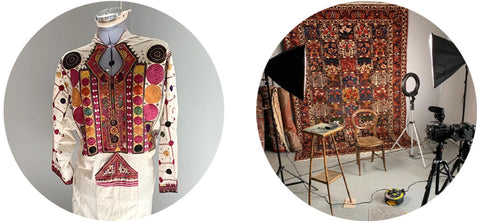 antique hire items from Clive Rogers Orient Rug