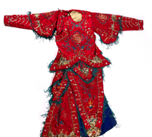 Chinese Theatre Robe In Two Parts Early Or Mid 20Th Cent Robe