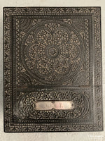 Load image into Gallery viewer, Indian Nagina Ebony And Bone Vanity Case Initialed In Silver Tscf Late 19Th Cent Case