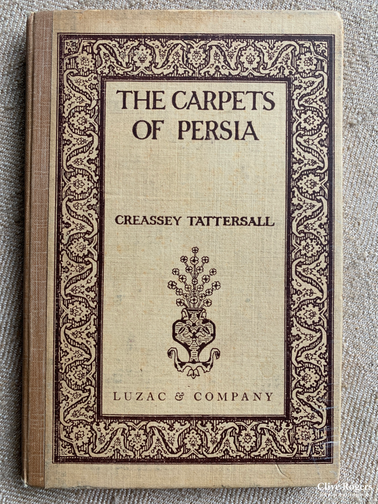 The Carpets Of Persia Creassey Tattersall Book