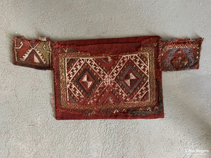Turkish C. Anatolian Obruk Cicim Kaiklic Spoon Bag Bag