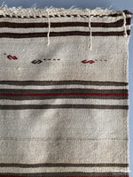 Load image into Gallery viewer, Turkish Heavy Wool Plainweave Kilim Carpet Mid 20Th Cent Flatweave