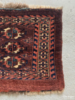 Load image into Gallery viewer, Turkmen Antique Torba Mid 19Th Cent Bagface