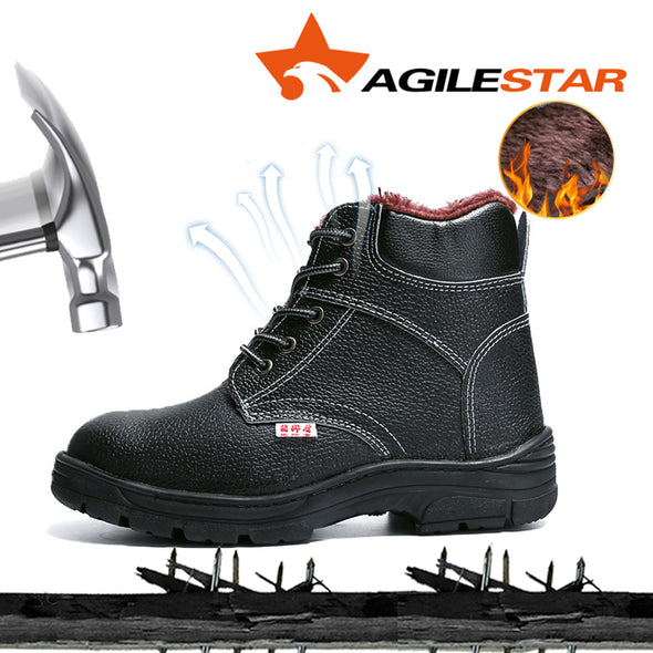 Safety Steel Toe Boots Anti Slip - Go Love Shoes