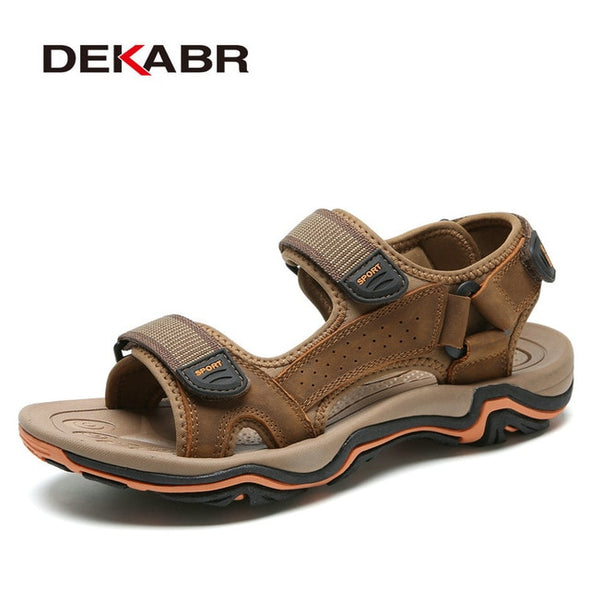 Real Leather Sandals for men - Go Love Shoes