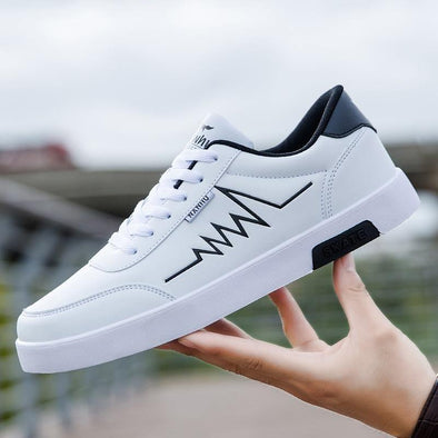 Breathable white sneakers - Go Love Shoes