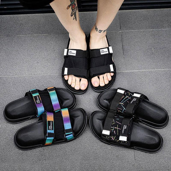 Men's Slides Soft Light Slipper - Go Love Shoes