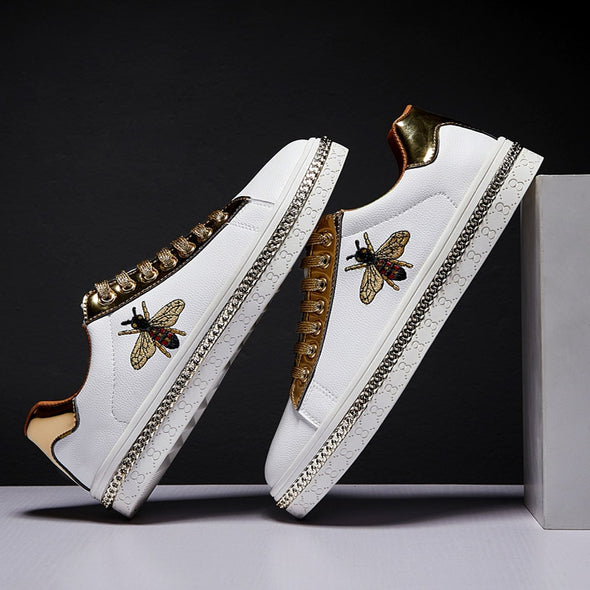Sneakers/shoes Glitter Embroidery for men - Go Love Shoes