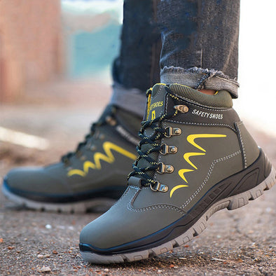 Safety Work Boots Steel Toe Waterproof - Go Love Shoes