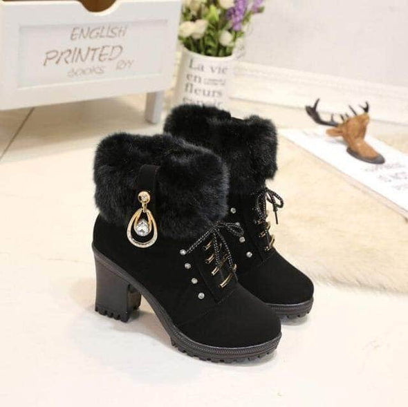 Winter Ankle Boots for Women - Go Love Shoes
