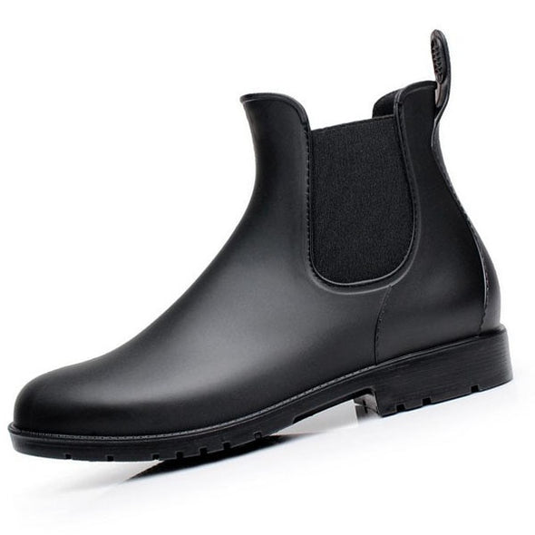 Men Chelsea Waterproof Boots - Go Love Shoes