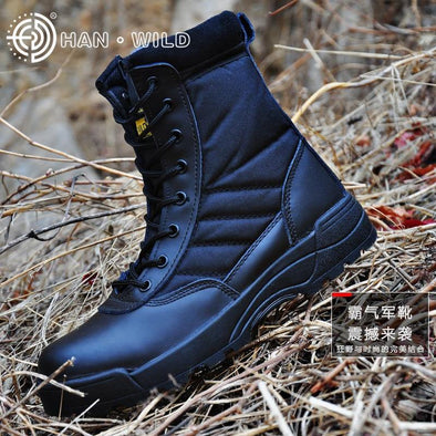 Military Breathable Boots - Go Love Shoes