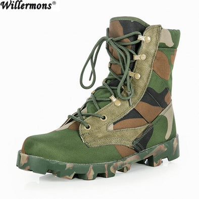 Combat Safety Boots Anti-slip - Go Love Shoes