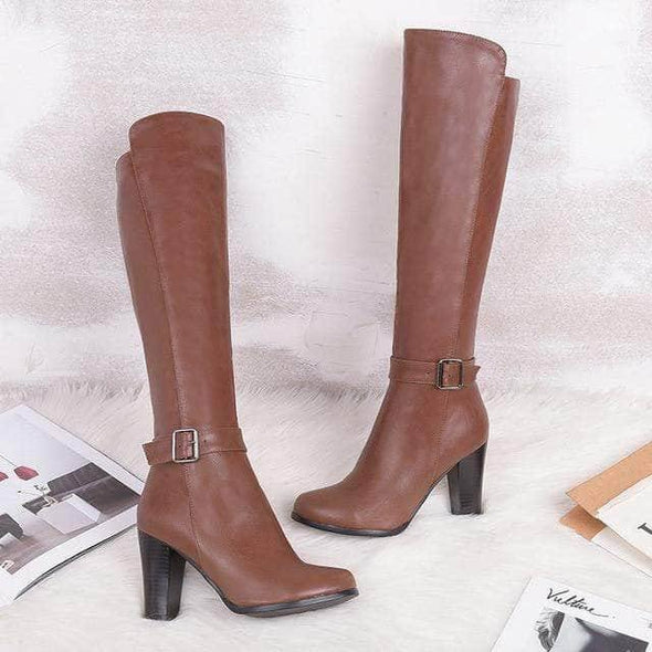 Women knee high boots - Go Love Shoes