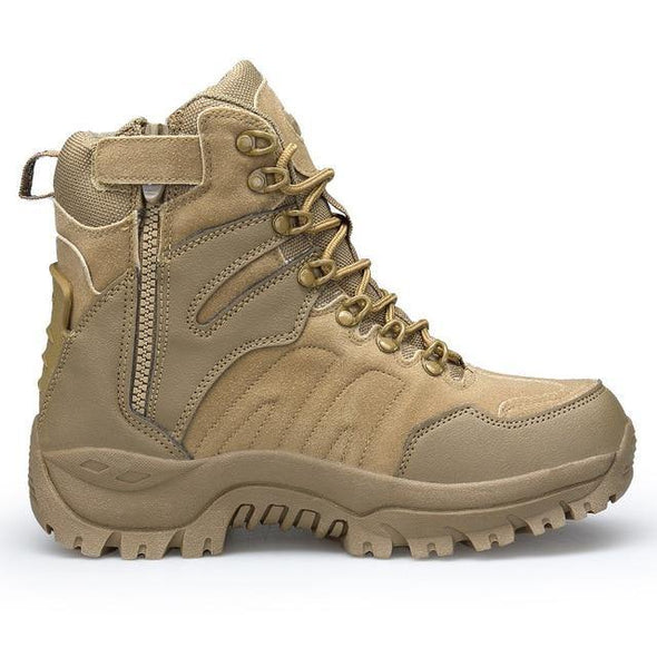 Military Combat Boot - Go Love Shoes