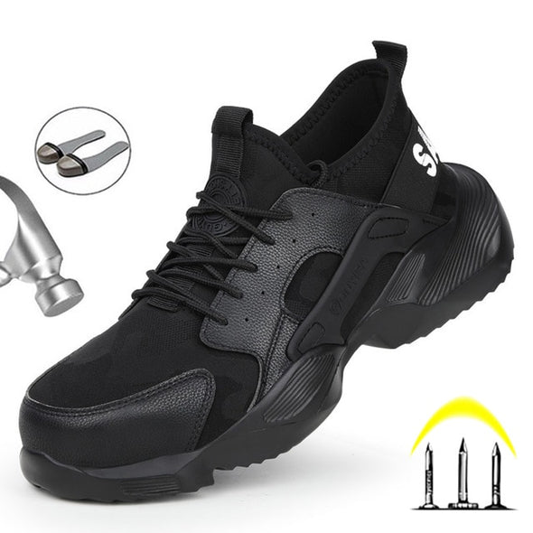 Safety steel toe Boots for Men - Go Love Shoes