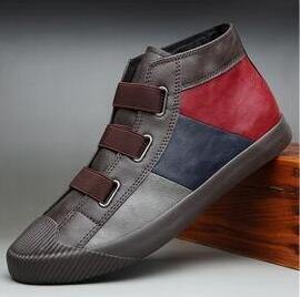 spring new hot fashion men shoes slip-on leather - Go Love Shoes