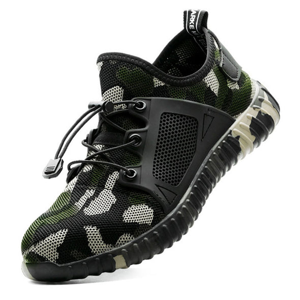 Safety Boots Men Anti-Piercing Air mesh - Go Love Shoes