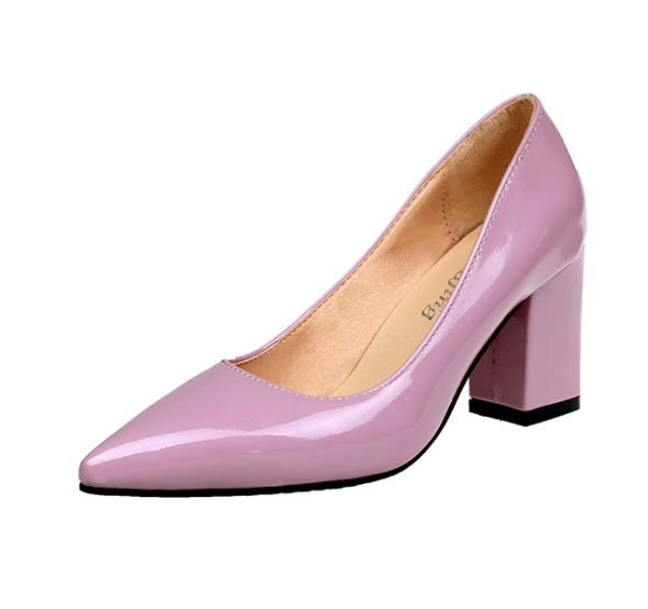 Pointed med high Heel for women - Go Love Shoes