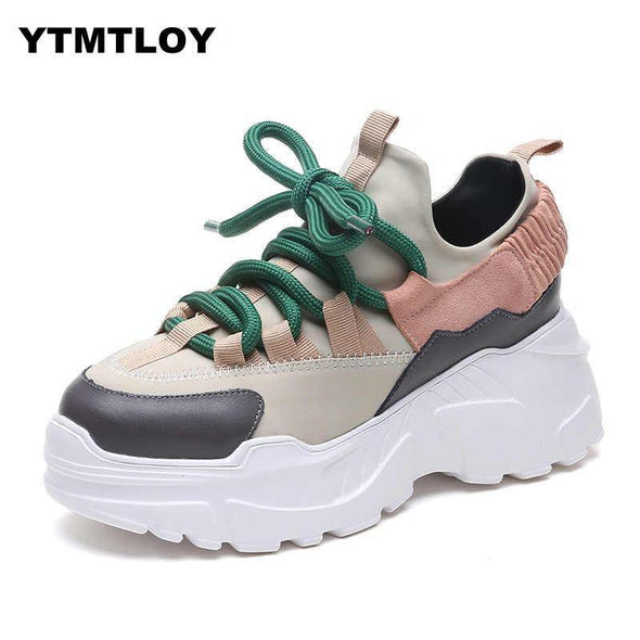 Women Casual Shoes Comfortable Platform Woman Sneakers - Go Love Shoes