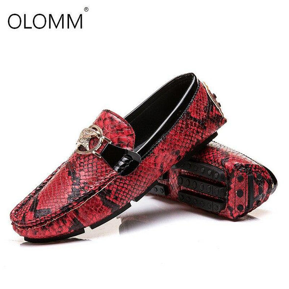 Flat Leather shoes for men - Go Love Shoes