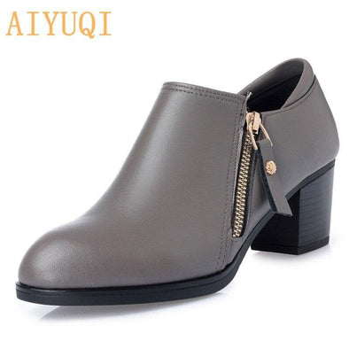 women shoes 2020 genuine leather shoes - Go Love Shoes