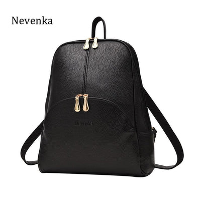 Soft PU Leather Backpack - Go Love Shoes