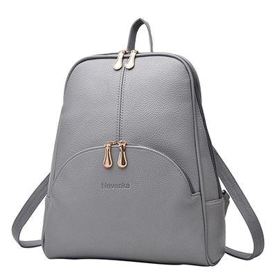 Leather Back pack for women - Go Love Shoes