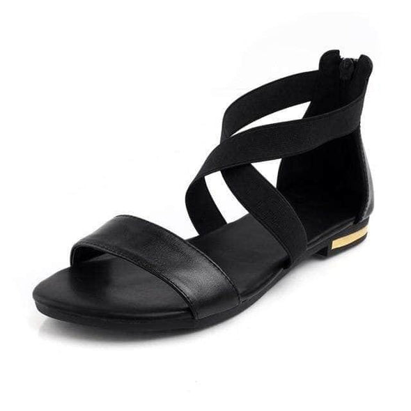 Genuine Leather Sandals - Go Love Shoes