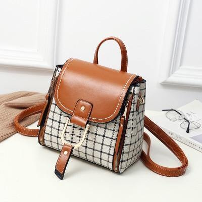 PU Leather Women Backpack - Go Love Shoes