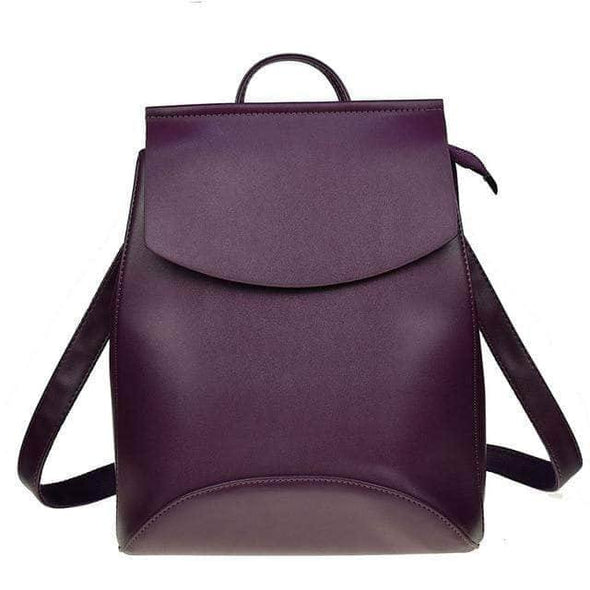 Women Backpack High Quality Leather - Go Love Shoes