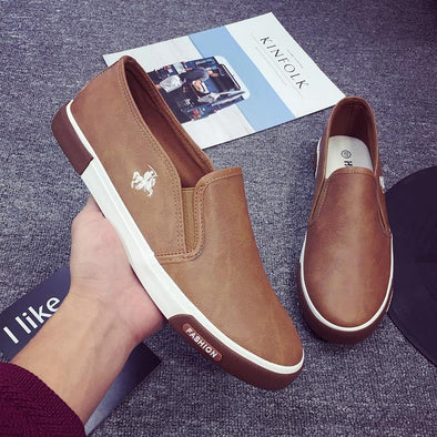 Genuine Leather Casual Shoes for Men - Go Love Shoes