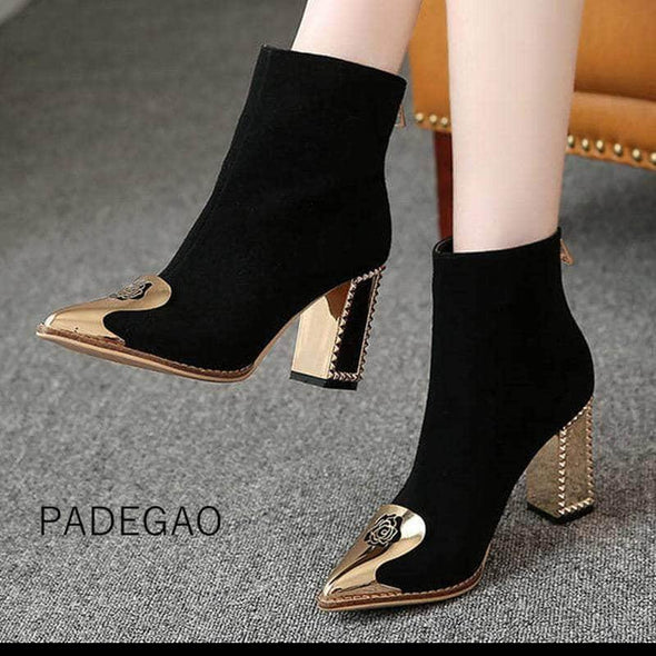 Ankle Boots Korean Casual Winter Boots - Go Love Shoes