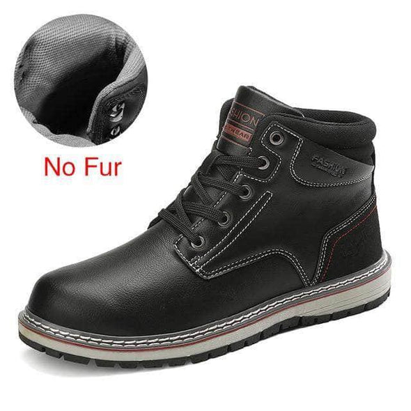 Wear resistant Warm Boots - Go Love Shoes