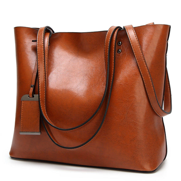 Leather handbag - Go Love Shoes