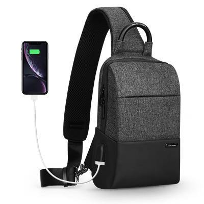 Cross body Waterproof  USB Charging bag - Go Love Shoes