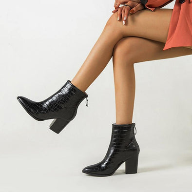Ankle Prints Boots for women - Go Love Shoes