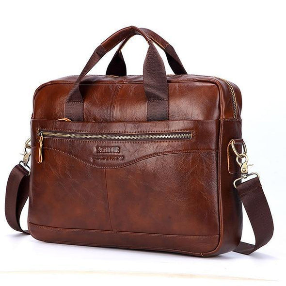 Genuine Leather Laptop Bags - Go Love Shoes